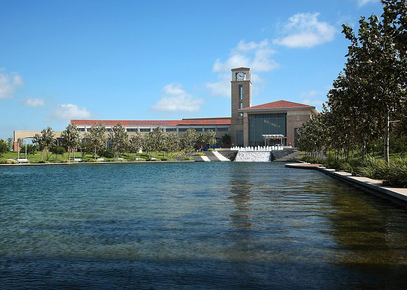 a water body-in-front -of-the-Convention-Center