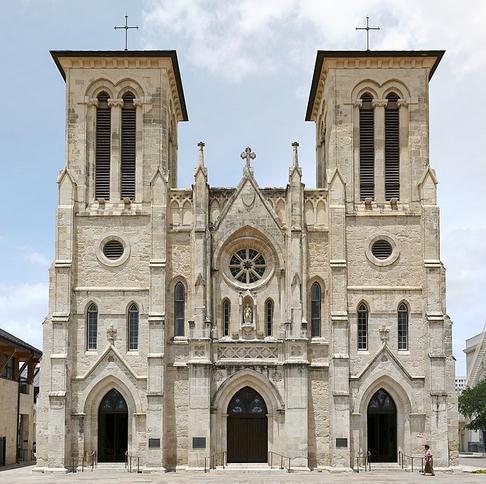 San Fernando Cathedral in San Antonio, Texas